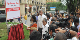 J Dey Chowk inaugurated in Powai in memory of slain journalist